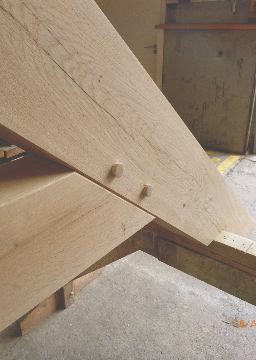 Greenwood structural joinery